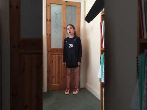 ABRSM Grade 3 Singing 'Dalmatian Cradle Song' by Abi McCarville