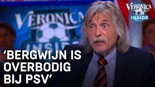 Johan Derksen over Bergwijn: 'Hij is overbodig geworden bij PSV'