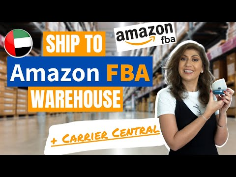 Send products to Amazon FBA warehouse in UAE 🌍+ Book appoint