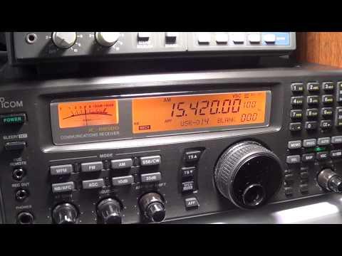 BBC Africa from Seychelles 15420 khz 1920 UT