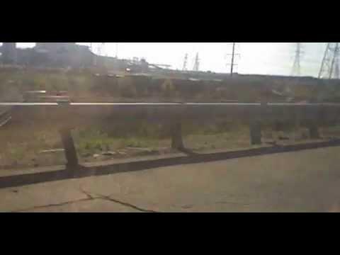 UP train goes through Eswards Cilco plant in Peoria, IL: ???? & ????.