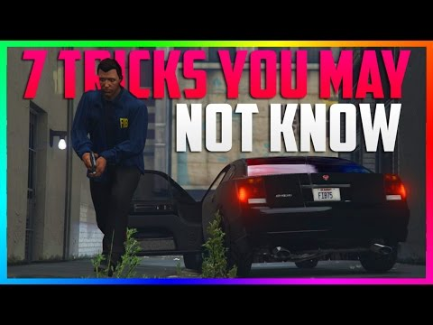 7 AWESOME TIPS & TRICKS YOU MAY NOT KNOW ABOUT IN GTA ONLINE! (GTA 5)
