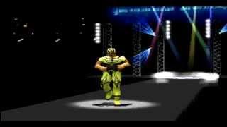 Jushin Liger vs. Tiger King in Toukon Retsuden 3