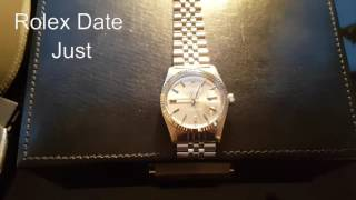 rolex date just 1601 and 16014 why buy a used rolex