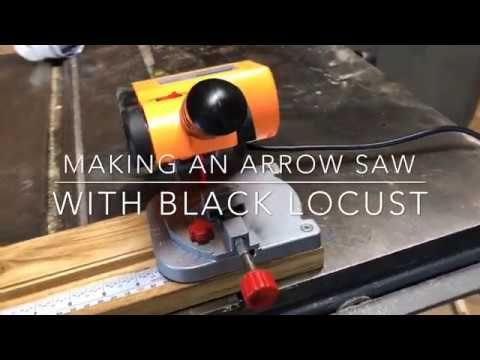 Making an Arrow Saw with a Black Locust Base