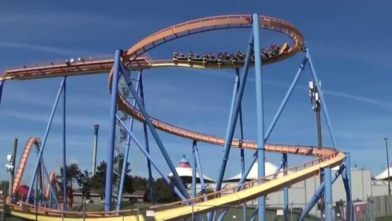 Behemoth Off Ride Footage HD 1080p Canada's Wonderland ...