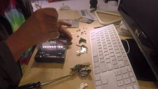 Parts for Art - hard drive disassembly