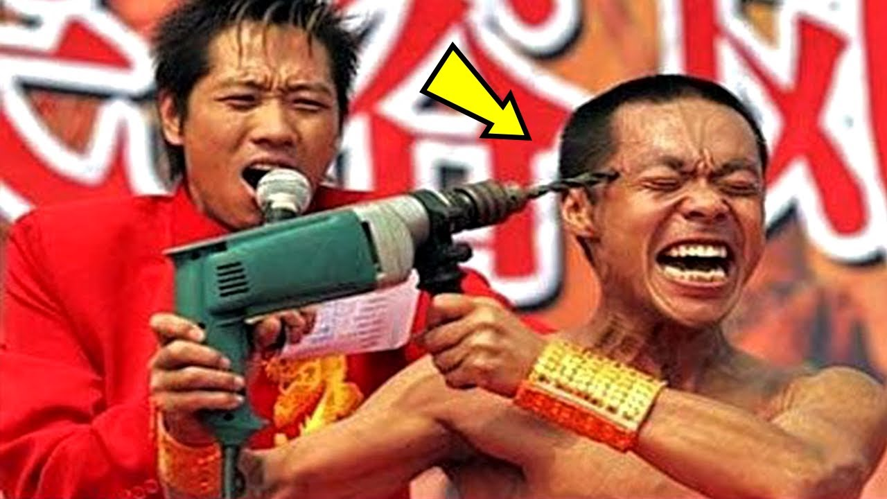 Shaolin Monks Cannot Feel Pain, They Got Superpowers