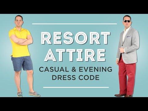 Resort Attire: Resort Casual & Resort Evening Dress Code Guide - Gentleman's Gazette