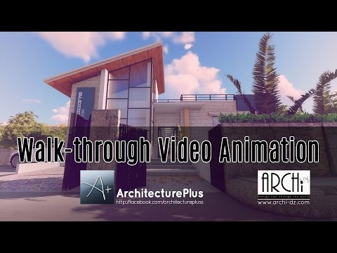 3D Video animation walkthrough using lumion 3D and adobe premiere