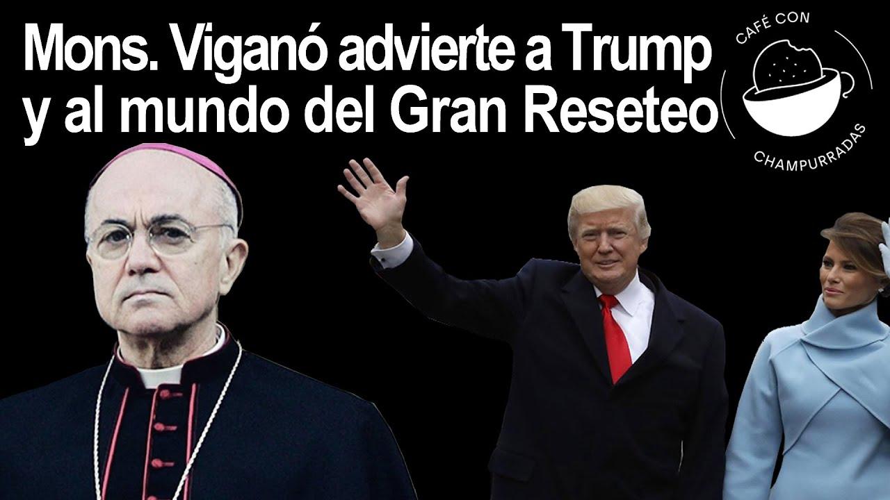 Carta de Mons Carlo Maria Vigano al presidente Trump, Octubre 2020