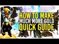 Guild Wars 2 - Quick Guide to More Gold / 1080p 50fps
