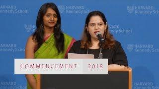 Harvard Kennedy School Class Day Awards 2018