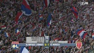 Ligue 1 - Finale pour la 2ème place - OL 6-1 Monaco - 37ème journée