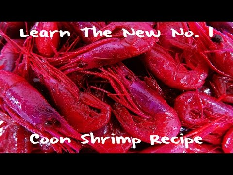 Learn The No. 1 Coon Shrimp Recipe
