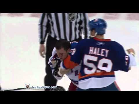 Sean Avery vs Micheal Haley Mar 31, 2011