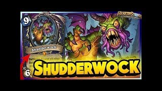 Hearthstone - Crazy Shudderwock Shaman Combo in Tournament