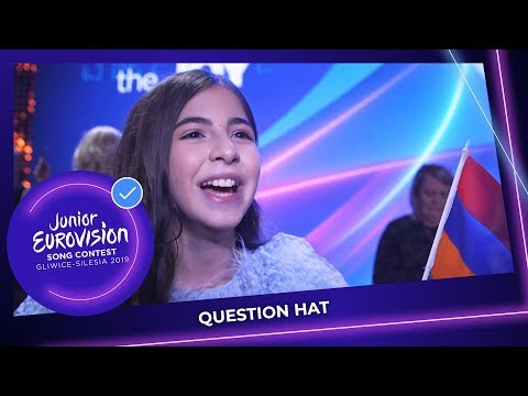 Question Hat 🎩 At The Opening Ceremony - Junior Eurovision 2019