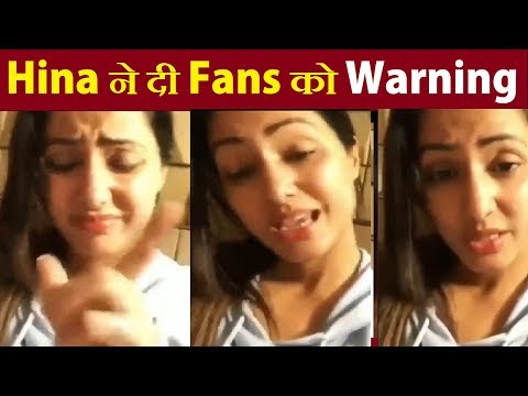 Hina Khan Gives LAST WARNING to Fans|| Hina To Quit Social Media|| Final Cut News