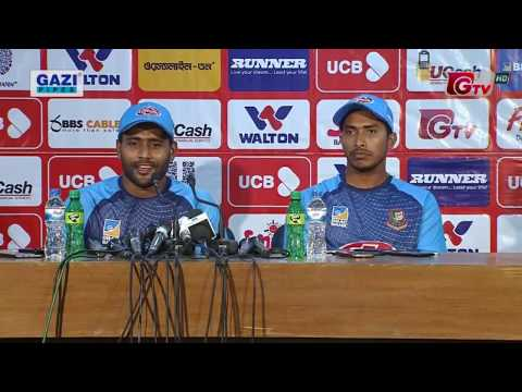 Kayes's and Soumya's Press Conference After Bangladesh vs Zimbabwe || 3rd ODI