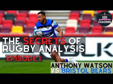 How to Analyse Performance in Rugby | Anthony Watson Bath v Bristol 2021 | Rugby Analysis