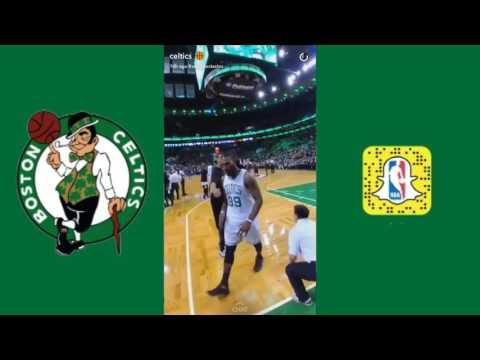 Boston Celtics Snapchat  | Feb 1, 2017