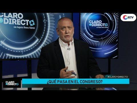 ¿Qué pasa en el Congreso? Salgado vs De Belaunde | Claro y Directo con Augusto Álvarez Rodrich