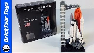 NANOBLOCK Space Shuttle  Review and Time Lapse Build