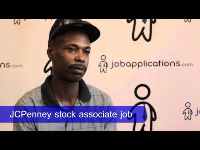 I have a group job interview this thursday for JC Penney, and im nervous!?