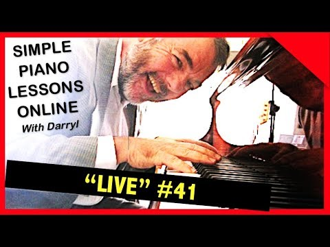 "Fast Track Piano Lessons ""Live"" - #041 June 27, 2017"