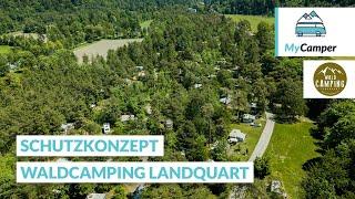 So schützt der Waldcamping Landquart seine Campinggäste