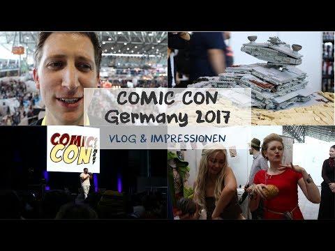 Comic Con Germany 2017 // Meine Erlebnisse in Stuttgart als Vlog