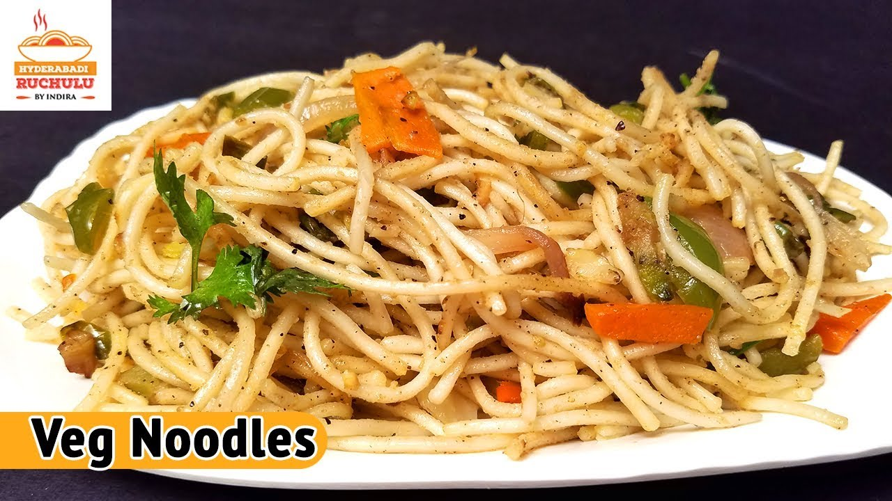 How To Cook Vegetarian Noodles