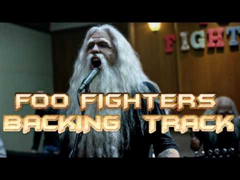 Foo Fighters - Run ( Guitar Backing Track )