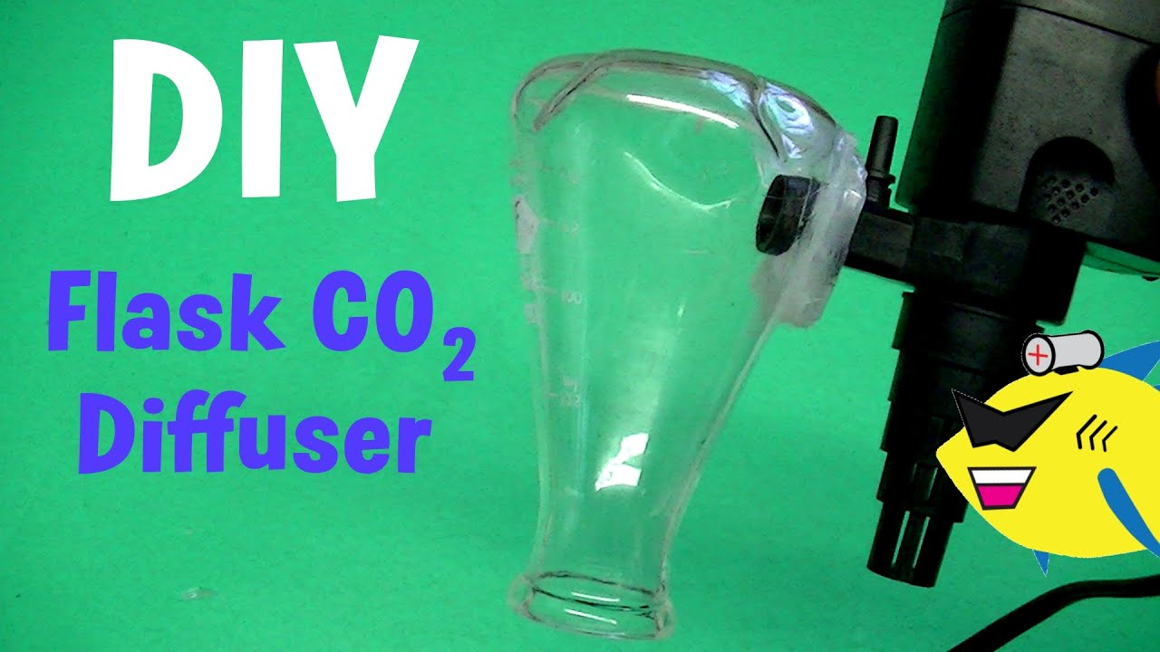 DIY Flask CO2 Diffuser: Aquarium CO2