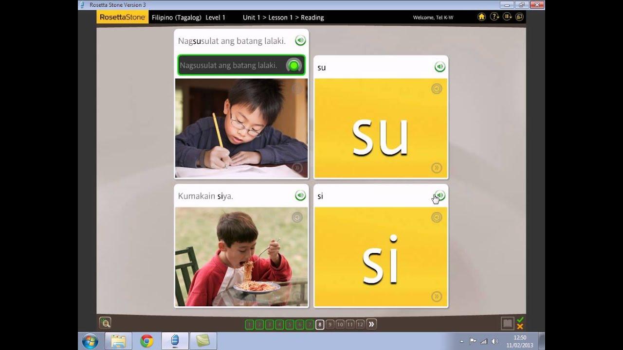 5 Tagalog Lesson 1 Reading