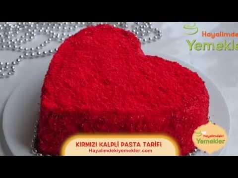 Kalp Şeklinde Pasta Tarifi