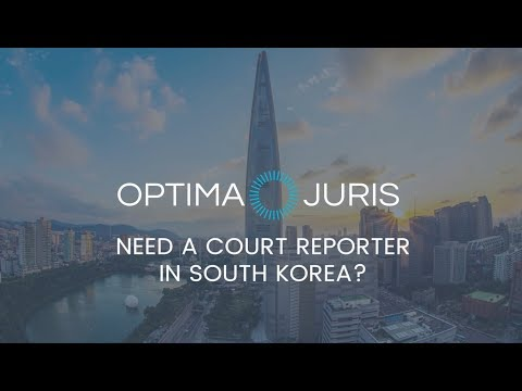 Regionally-Based Court Reporters in South Korea