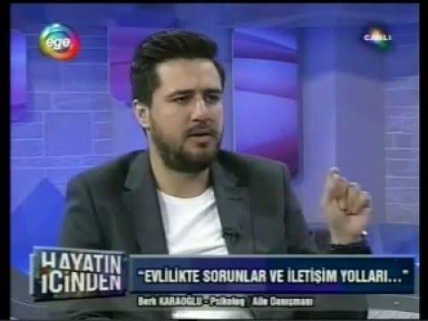 Ege Tv 24 Mart 2016 Canlı Yayın - Evlilik Sorunları ve İletişim Yolları