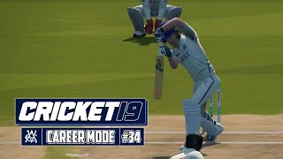 CRICKET 19 CAREER MODE #34 - Bat + Ball = Good Cricket