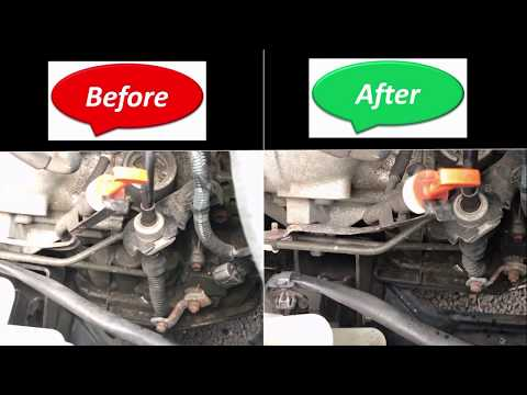Toyota Corolla 2005 Automatic Transmission Shift Cable Easy Fixing – without pushing fits