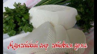 Рецепт Настоящий адыгейский сыр готовим дома Это просто быстро и доступно Рецепт от Джулии