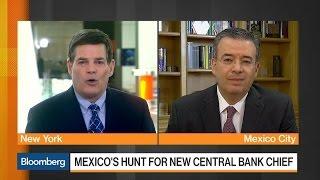 Deputy Gov. Diaz De Leon Won't Comment on Banxico Future