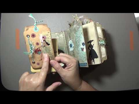 Paris Themed Paper Bag Junk Journal