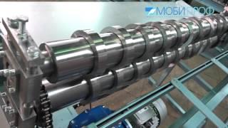 видео Продольная резка металла: оборудование, линия и станки для продольно-поперечной резки, дисковые ножницы