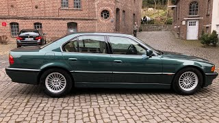 BMW E38 V12 - Detailing 322.000 km - Paddy poliert PS Car Garage