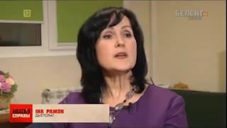 Инна Рожок на белорусских телеканах.