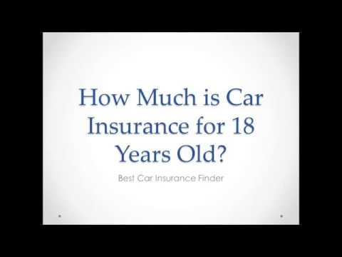 How Much is Car Insurance for 18 Years Old