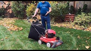 troy bilt yard vacuum chipper shredder csv 070 review by dan