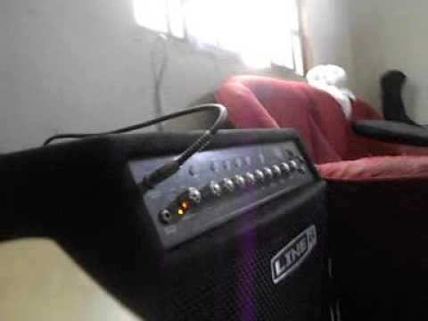 Teste Cubo Line 6 Low Down LD300 Pro e Fender Jazz Bass American Special